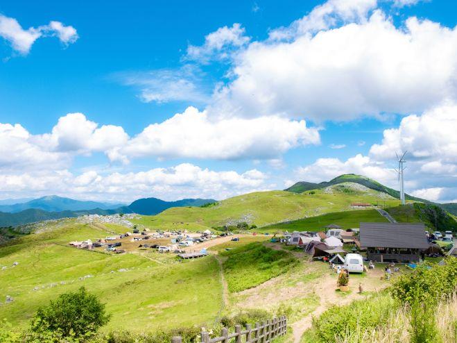 四国カルスト姫鶴平キャンプ場