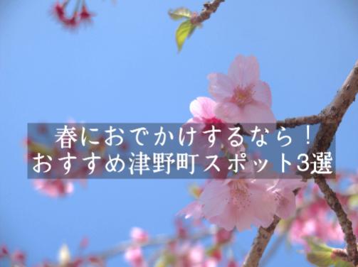 春にお出かけするなら!おすすめ津野町スポット3選