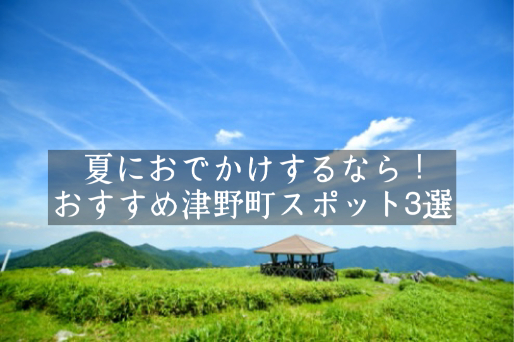 夏におでかけするなら!おすすめの津野町スポット3選